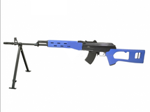 JG A47 03 AK style Electric sniper rifle in two tone blue