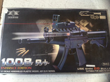 1008A+ Electric Airsoft Rifle MP5 in Blue