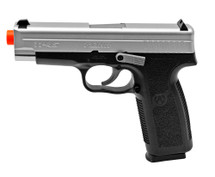 KAHR ARMS TP45 spring powered pistol in smokey finish