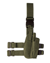 Kombat Tactical leg holster in Olive