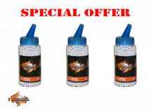 Fireball BB pellets 6000 x 0.25g speed loader in 3 bottles