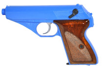 HFC HG106 Gas Powered PPK Pistol BB Gun in Blue