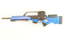 JG G36 SL8 Style Airsoft rifle in Blue.
