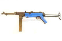 AGM MP40 Replica AEG Airsoft Rifle in Full Metal in blue