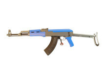 cyma ak47 cm028s airsoft rifle in blue