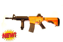 Well D4817 M4 fully auto Airsoft gun in orange