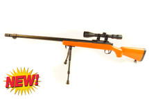 Well MB07 Sniper Rifle with scope & bipod in orange