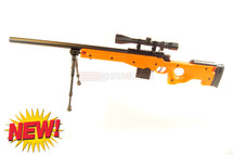 Well MB4401 Spiring Sniper Rifle with scope & bipod in orange