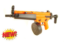 Well D95 Electric drum mag mp5 BB Gun in orange