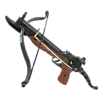 Cyclone Self Cocking 80 lb Crossbow Pistol in Wood Effect
