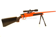 Cyma ZM51 bolt action sniper rifle Inc scope & bipod in Orange