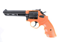 HFC HG133 Replica S and W Revolver gas BB Gun in orange