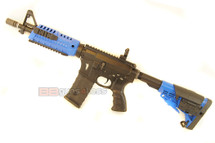 CAA M4 Shorty 10.5inch CQB AEG Airsoft Rifle in blue