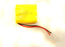 BATTERY NI-CD AA  7.2v  400mah  BATTERY PACK