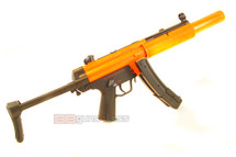 Well HK MP5 SD5 with collapsable stock replica BB Gun AEG rifle