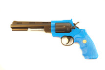 Golden Eagle KG9 Revolver in blue