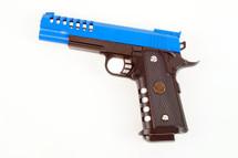 Kuelang M188 spring pistol bb gun in blue