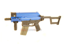 ARES Amoeba CCR M4 Airsoft Gun in Blue