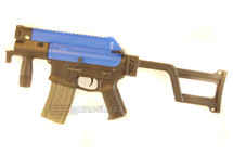 ARES Amoeba CCC M4 Pistol Airsoft Gun in Blue