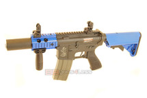 ARES M4 CQC SD Airsoft Gun in Two Tone Blue