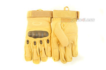Tactical Gloves with knuckle protection in Tan