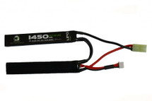 Nuprol airsoft battery1450MAH 7.4V 25C LIPO Crane Stock Type