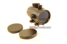 red dot sight 1x50 metal construction