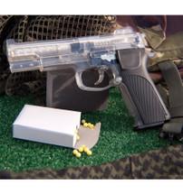 Blackviper M4505 replica BB gun in clear