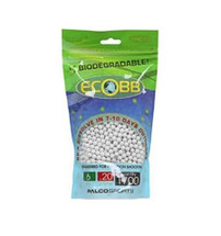 Ecobb biodegradable BB pellets 1700 x 0.20g in bag