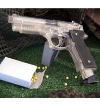 Blackviper M92 replica BB gun in clear