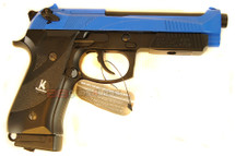 HFC HG 192 Gas powered bbgun Full metal in blue