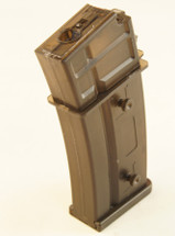 CYMA G36 mid cap mag also fits SRC g36 130 rounds in tan