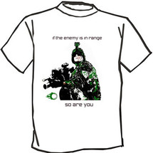 Blackviper enemy in range T-shirt