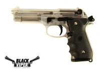 Blackviper M9 Gas Blowback Pistol in Clear