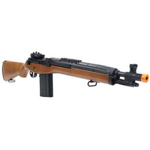 Cyma CM032A Electric M14 Replica Airsoft Rifle in Wood Finish