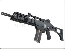 WE G39C RAS Carbine Replica GBB Airsoft Rifle in Black