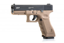 STARK ARMS S17C GBB Airsoft Pistol in Tan
