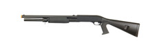 Double Eagle M56AL Tri Shot Pump Action Shotgun in Black