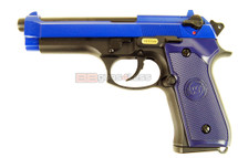 WE M92 GEN 3 GBB Pistol in blue