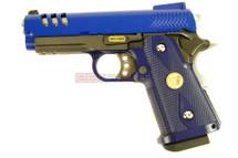 WE HI Cappa 3.8 GEN 3 GBB Pistol in blue
