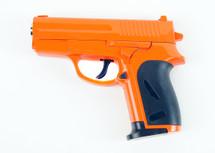 Cyma ZM01A full metal pistol in a black plastic case