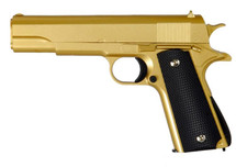Galaxy G13 Full Metal Spring BB Gun in gold
