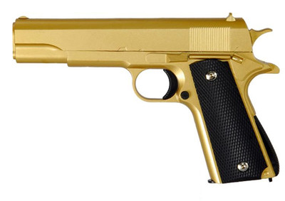 Galaxy G13 Full Metal Spring BB Gun in gold  (NEW VERSION)