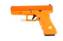 HFC HG 185 glock 17 Replica Gas blowback pistol in orange