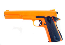 HFC HA 123 Kongsberg Colt 1914 spring BB pistol in orange