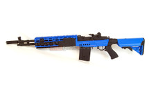 Cyma CM032 EBR M14 Tactical AEG Rifle in Blue