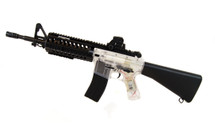 Blackviper B3814 M4 fully auto Airsoft gun in clear
