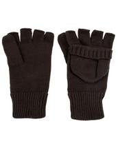 Fingerless Gloves Shooters Mitts - black