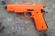 WELL P361 Spring Pistol Colt 1911 replica in orange