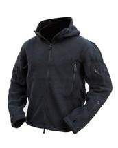 Kombat Tactical Recon Hoodie in black Zipped and Fleece Jacket